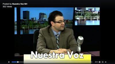 Enrique Mesa in Nuestra Voz NH