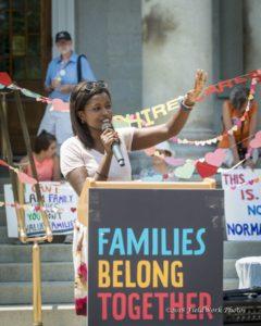 Lina Shayo - Families Rally